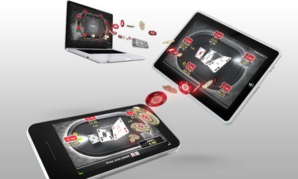 Le gamble au poker